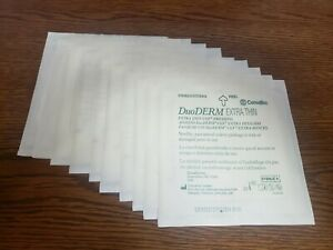 DuoDERM CGF Dressing Extra Thin, 6 x 6, 10 Count