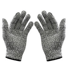 Freesize Knit Cut-resistant Anti-abrasion Chain Saw Safty Gloves Protection