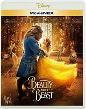New Beauty and the Beast 2017 Blu-ray DVD MovieNEX Japan