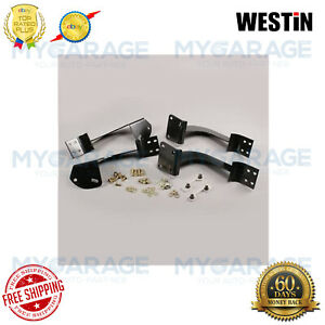 Westin For 1998-2006 Ford Ranger 2 door Oval Step Bars Mounting Brackets 22-1445
