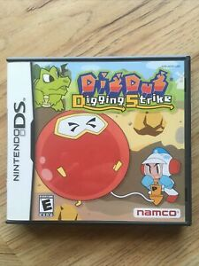 Dig Dug Digging Strike DS Complete 100% AUTHENTIC