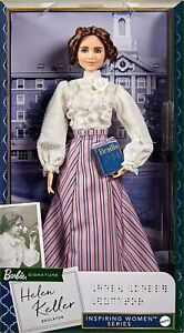 NEW - Barbie Signature Inspiring Women Series: Helen Keller Barbie Doll