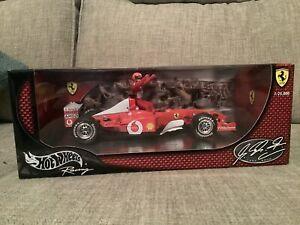 Hot Wheels Racing 54614 - Michael Schumacher F1 - 1:18 - Unopened Box. Ltd Edit