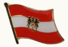 Pin Flaggenpin Österreich mit Adler Anstecker Anstecknadel Fahne Flagge