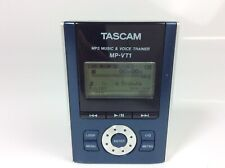 TASCAM MP-VT1 - MP3 Music and Voice Trainer (Power, Mic, and Headphone Tested)