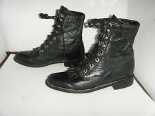 JUSTIN Roper  Granny Grunge Boots Size 6.5 A Women's (RUN BIGGER)