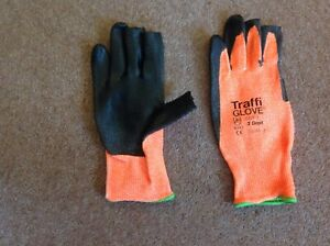 TraffiGlove 3 Digit 3 - Handling Glove with 3 Exposed Tips - TS-TG3020
