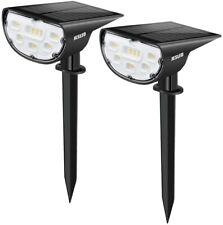 LED Landscape Light Solar Power Garden Outdoor Path Yard Lamp IP67 Waterproof
