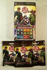 Marvel Avengers Age of Ultron Dice Masters 2 Player Starter Set Blind Packs NEW