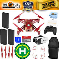DJI Ryze Tech Tello Quadcopter Iron Man Edition Drone With Remote 3 Battery Kit