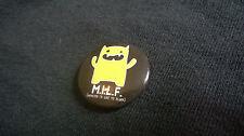 Monster Mash David & Goliath M.I.L.F. Badge Button Pin Fun Novelty Gift