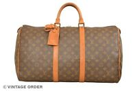 Louis Vuitton Monogram Keepall 50 Travel Bag M41426 - YG01363