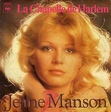 JEANE MANSON LA CHAPELLE DE HARLEM / LES LARMES AUX YEUX FRENCH 45 SINGLE