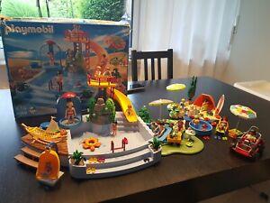 Playmobil Set 4858 Freibad mit Rutsche Schwimmbad