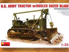 MiniArt 1:35 d7 con lama angolata DOZER U.S. ARMY Trattore kit modello