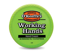 O'Keeffe's Working Hands Hand Cream Healthy Dry Cracked Healing 3.4 oz ounce Jar