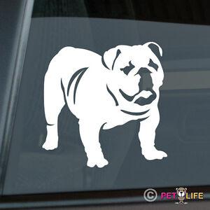 English Bulldog Die Cut Vinyl Sticker - Bull Dog British English