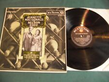 JEANETTE MACDONALD and NELSON EDDY LP LOT OF 2