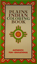 PLAINS INDIAN COLORING BOOK ~ BY DONNA GREENLEE