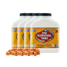 60-Days Survival food tablets butterscotch food supply for army camping outdoor