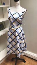 cb established 1962 Women's Dress Plaid Size 6 Blue Multi Colors