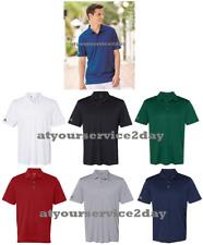 ADIDAS Mens Dri Fit UPF 30 Performance Golf Sport Shirts Size S-4XL NEW A230