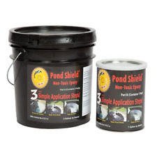Pond Armor SKU-BLACK-3GA Shield Non Toxic Epoxy, 3-Gallon, Black
