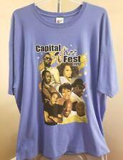 Capital Jazz Festival 20th 2012 Classic Blue Capital Jazz Festival 2Xl T-Shirt
