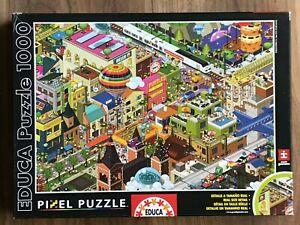 EDUCA PIXEL Jigsaw Puzzle 1000 Pieces A DAY IN THE CITY