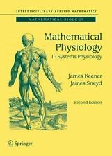 Interdisciplinary Applied Mathematics: Mathematical Physiology Vol. II : Systems