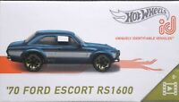 Hot wheels id '70 Ford Escort RS1600 HW Screen Time 2/5 SERIE 1 FX412-T711 F&F