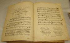 1840s Antique Sheet Music/THEY HAVE GIVEN THEE TO ANOTHER//Ballad