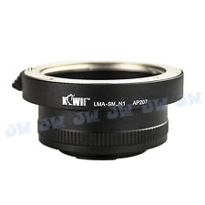 SONY ALPHA MINOLTA MA AF LENS TO NIKON 1 MOUNT N1 V1 J1 J2 J3 S1 CAMERA ADAPTER