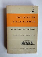 Paperback Modern Library T56 The Rise of Silas Lapham by Howells