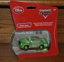Disney Store Pixar Cars Exclusive Green Chick Hicks  Die Cast  Bubble pack NEW
