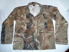 RANGER CAMO BUTTON FRONT LONG SLEEVE SHIRT YOUTH 14 REALTREE