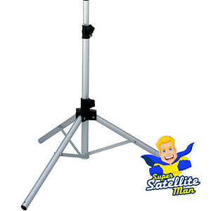 Satellite dish tripod mount stand for camping touring caravan Sky Freesat + pegs