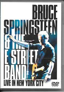 2 DVD ZONE 2--BRUCE SPRINGSTEEN & THE E STREET BANC--LIVE IN NEW YORK