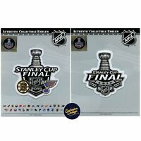 2019 Stanley Cup Final & Dueling Boston Bruins St Louis Blues Patch Combo