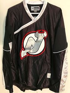 Reebok Women's NHL Fashion New Jersey Devils Team Black sz XL