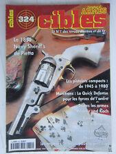 CIBLES N° 324 /Pietta:Navy shériff's 1851/pistolets compact de 1945-1980/Mauser