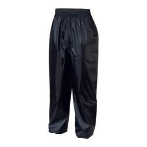 iXS Crazy Evo Motorcycle Rain Pants Black Men's