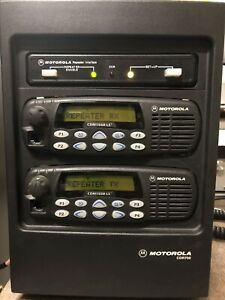 Motorola CDR700 uhf repeater 450-520Mhz cdm1550 program and tuning included
