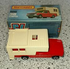 Matchbox 38 camper with box in great condition made in England
