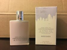 NEW Abercrombie & Fitch Womens Winter Classic Perfume 1.7oz Eau de Parfum