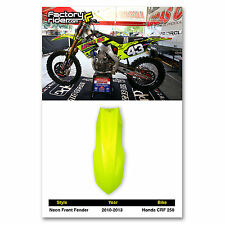 2010-2013 Honda Crf 250 Neon Front Fender Plastics From Enjoy Mfg