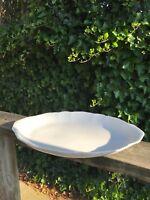"Vintage Oval Syracuse Plain White Large Platter /Dish /Plate OP Co. 17.5"" Length"