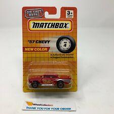 #2  '57 Chevy MB 4 * RED * Matchbox * G27