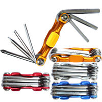 7 in 1 Multi-function Bike Bicycle Wrench Chain Cutter Cycling Repair Tools Kit