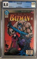 Batman #498 CGC 8.0
